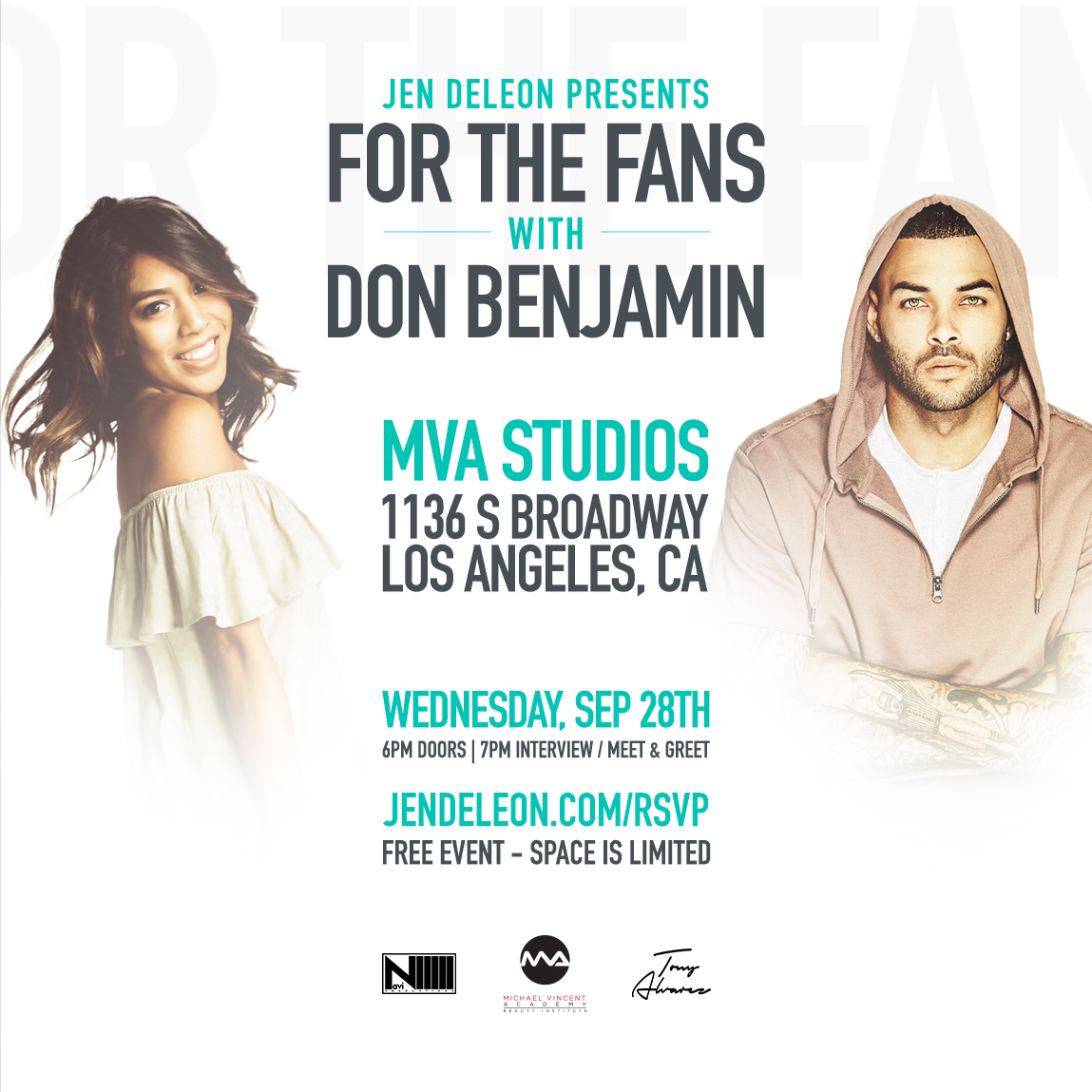 Don Benjamin For The Fans with Jen DeLeon